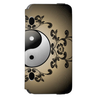 Ying y yang funda billetera para iPhone 6 watson