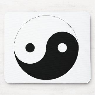 Ying y Yang Tapetes De Ratones