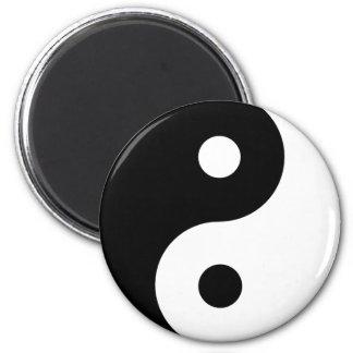 Ying Yang 2 Inch Round Magnet
