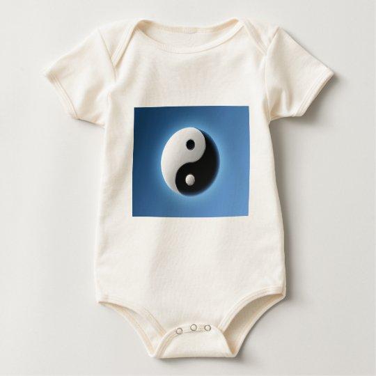 Ying Yang Baby Bodysuit