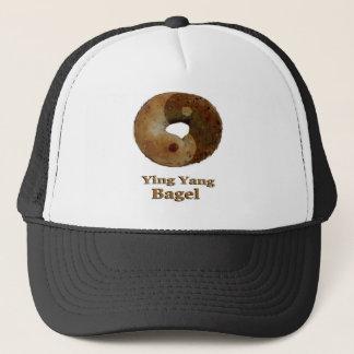 Ying Yang Bagel Trucker Hat
