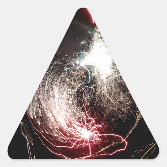 Ying Yang Bang Triangle Sticker