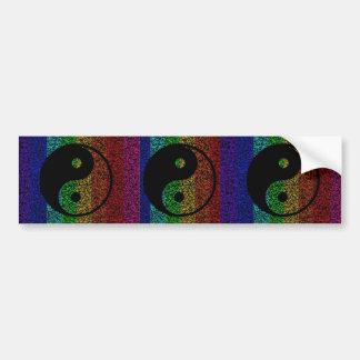 Ying Yang Bumper Sticker
