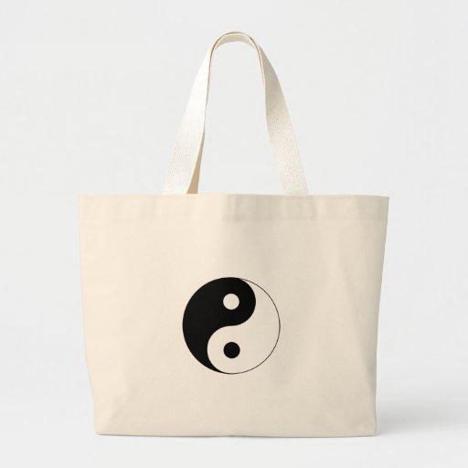 Ying Yang Canvas Bags