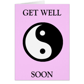 ying yang card
