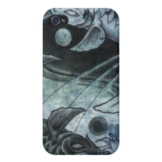 Ying Yang Carp iPhone 4/4S Covers