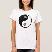 Ying Yang Celtic Knotwork T-Shirt