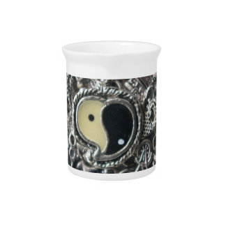 Ying yang charms drink pitcher