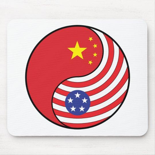 Ying Yang China América Mousepads