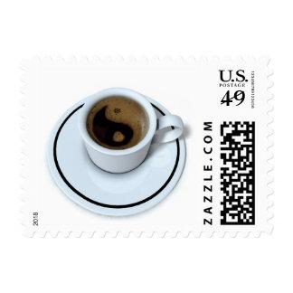 Ying Yang coffee Stamp
