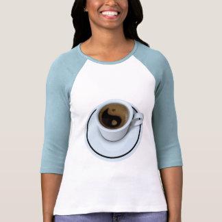 Ying Yang coffee T-shirt