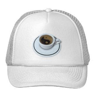 Ying Yang coffee T-shirt Trucker Hat