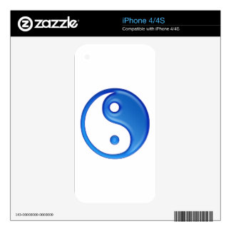 Ying Yang Decals For The iPhone 4