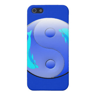 Ying-Yang Dolphin Personalized Melissa Iphone 4 Ca iPhone SE/5/5s Cover