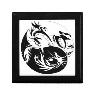 Ying Yang dragon Keepsake Box
