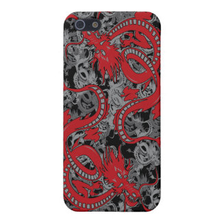 Ying Yang Dragon oin Red - Chinese New Year iPhone SE/5/5s Cover