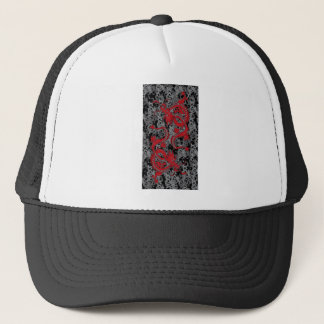Ying Yang Dragon oin Red - Chinese New Year Trucker Hat