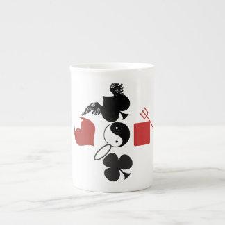 Ying yang gambit Bone China Mug