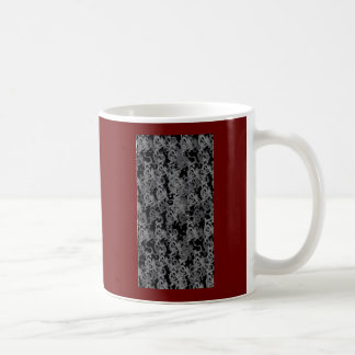 Ying Yang Gray Dragons Coffee Mug