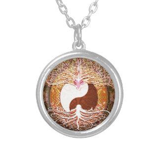 Ying Yang Heart Tree of Life Jewelry