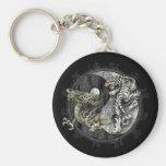 Ying Yang Key Chain