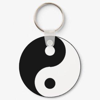 Ying Yang Keychain keychain