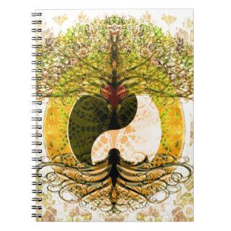 Ying Yang Libros De Apuntes Con Espiral