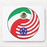 Ying Yang México América Tapetes De Raton