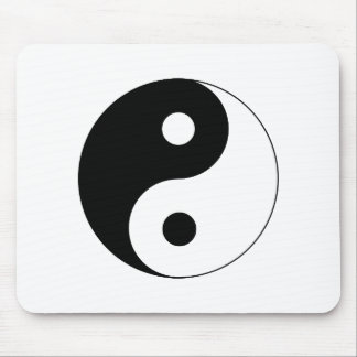 Ying Yang Mouse Pad