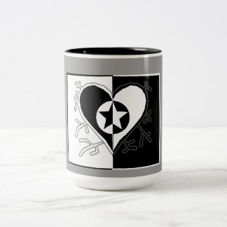 Ying/Yang Two-Tone Coffee Mug