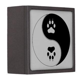 Ying Yang Paw Print Gift Box