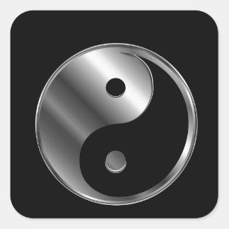 Ying yang colcomanias cuadradass