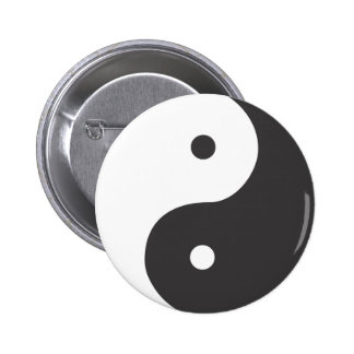 Ying Yang Pinback Button