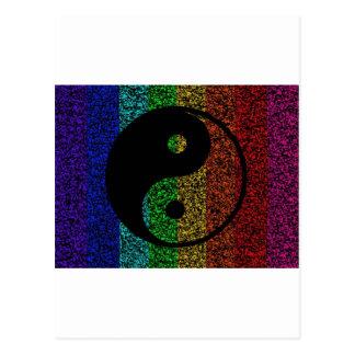 Ying Yang Postcard