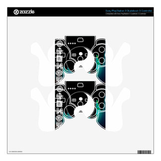 YING YANG PRODUCTS SKIN FOR PS3 CONTROLLER