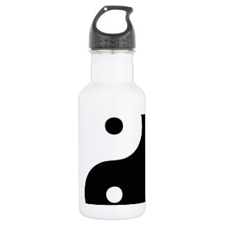 Ying Yang Stainless Steel Water Bottle