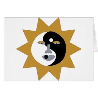 ying yang sun card