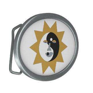 Ying Yang Sun Hebilla De Cinturon
