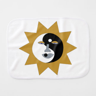 Ying Yang Sun Paños De Bebé