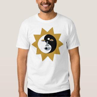 ying yang sun tee shirt