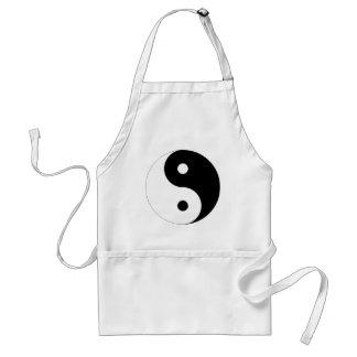 Ying Yang Symbol Gift Adult Apron
