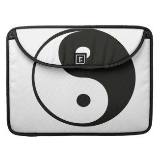 Ying yang,tao,chinese art of energy,feng shui sleeve for MacBooks