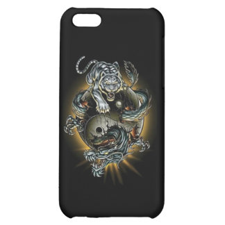 Ying-Yang-Tiger-Dragon iPhone 5C Cover
