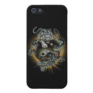 Ying-Yang-Tiger-Dragon iPhone SE/5/5s Case