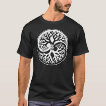 Ying Yang Tree OF Life and Knowledge T-Shirt