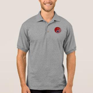 Ying Yang Vietnam America Polo Shirt