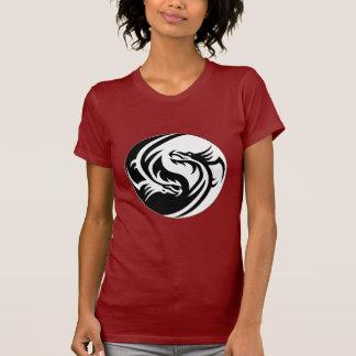 Ying Yang Zen Dragons T-Shirt