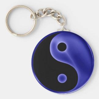 YingYang-blue Keychain