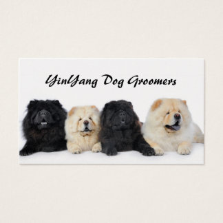 YingYang Chows Business Card