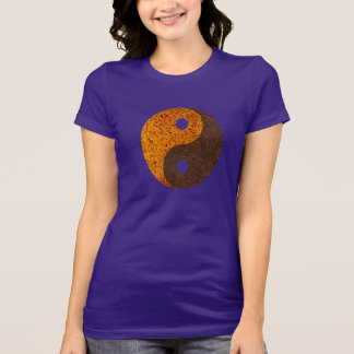 YingYang-Distressed T-Shirt